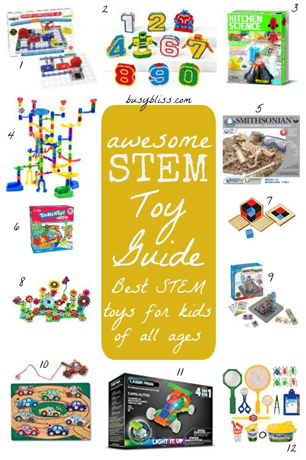 12 Best Stem Toys Your Kids Will Absolutely Love Busy Bliss