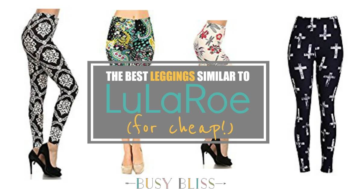 dad28de6c8b0a The Best Leggings Similar to LuLaRoe {for Cheap} - Busy Bliss